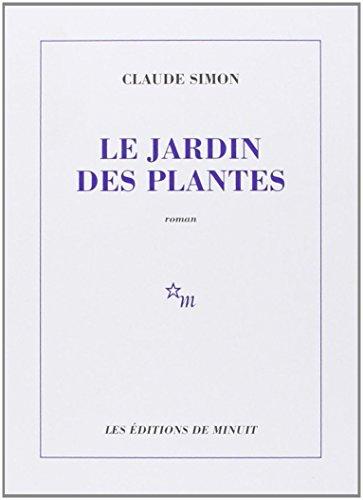 Le Jardin des plantes par Claude Simon