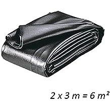 Teichfolien Zuschnitt PVC 0,5 mm 2 x 3 m = 6 qm