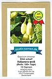 Extrem scharfes, weißes Chili - Habanero weiß - weiss - Habanero white - 10 Samen