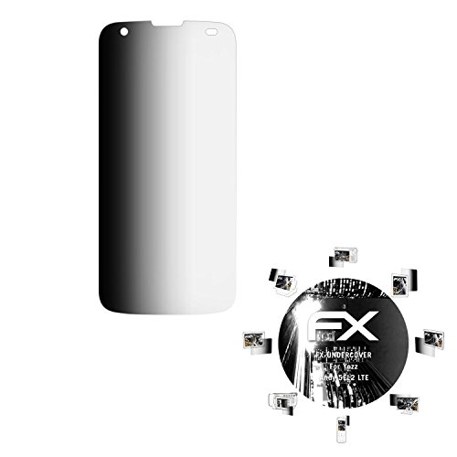 atFolix Blickschutzfilter für Yezz Andy 5EL2 LTE Blickschutzfolie, 4-Wege Sichtschutz FX Schutzfolie