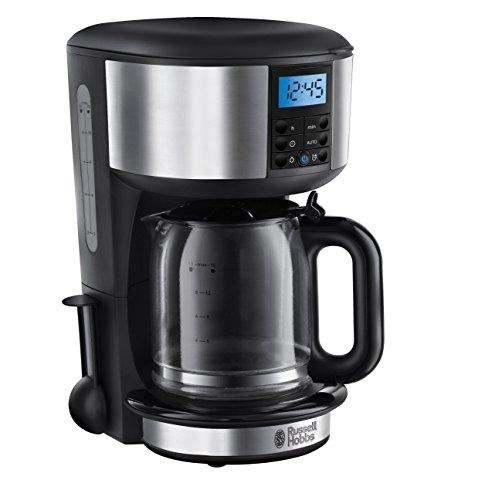Russell Hobbs 20681-56 Legacy Digitale Glas-Kaffeemaschine, innovative Brausekopf-Technologie, Timer, 1,25 L