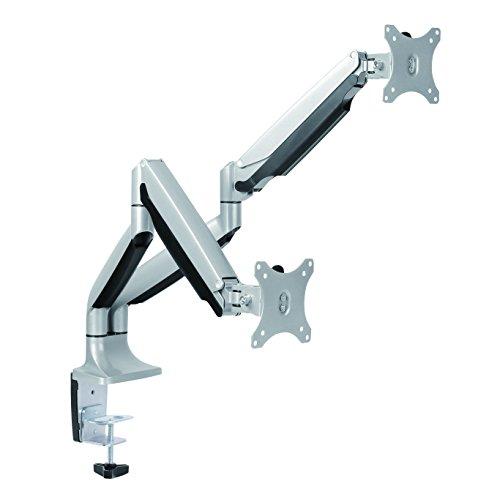 LogiLink BP0043 Support d'écran Plat pour Bureau 81,3 cm (32) Pince/Boulon Aluminium - Supports d'écrans Plats pour Bureau (Pince/Boulon, 9 kg, 33 cm (13), 81,3 cm (32), 100 x 100 mm, Aluminium)
