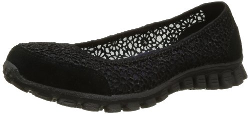 Skechers Ez Flex 2 - Sweetpea, Women's Closed-Toe Pumps, Black (Black), 6...