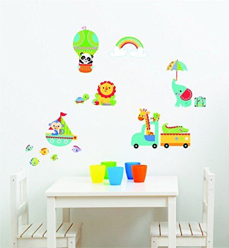 Image of Fisher-Price Rainforest Nursery Wall Stickers