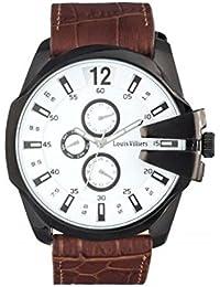 Louis Villiers - Reloj de pulsera para hombre