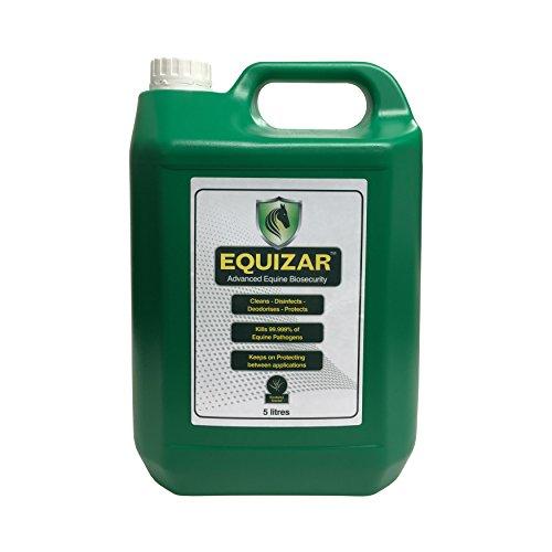equizar 5L-Nettoyant non toxique Equine Désinfectant et désodorisant pour niche