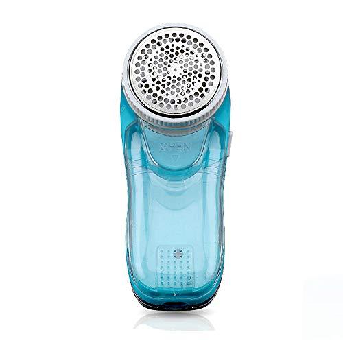 NDYD Fusselentferner Kleidung Rasiermaschine elektrisch Kaschmir-Rasierer Schnelle Flusenentfernung Wattebausch,Blue