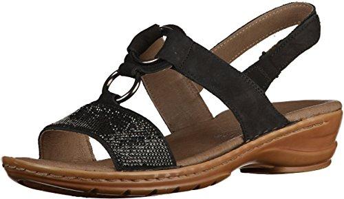 Sandales À Bout Ouvert Ara Hawaii, Femme Noire