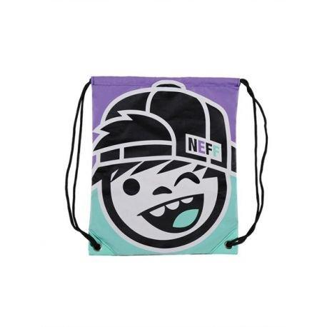 Preisvergleich Produktbild Neff Cinch Sack Rucksack Kenni Teal,  Purple,  Uni