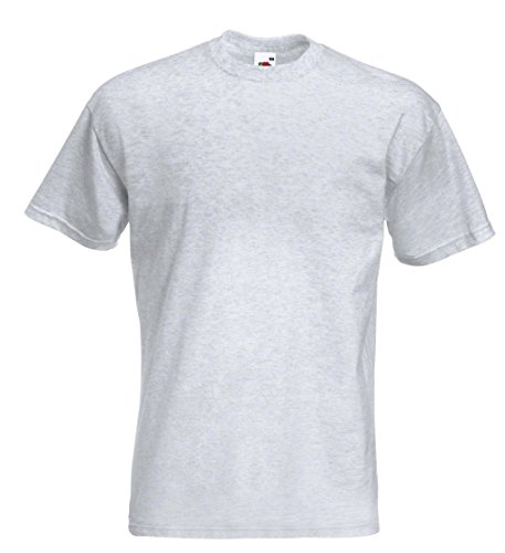 Fruit of the Loom: Super Premium Tee 61-044-0, Größe:M;Farbe:Ash (Mens Premium-t-shirt Tee)