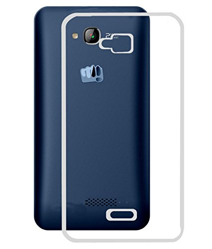 Evoque High Quality Ultra Thin Transparent Silicon Back Cover For Micromax Bolt Q336  available at amazon for Rs.125