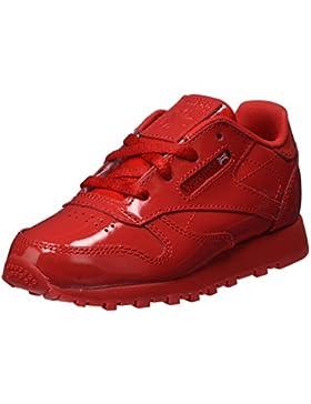 Reebok Classic Leather Patent, Zapatillas de Deporte Unisex Niños