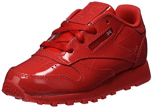 Reebok Mädchen Classic Leather Patent Gymnastikschuhe, Rot (Primal Red Primal Red), 26.5 EU