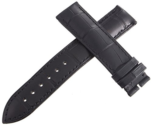 Corum, h2110, 19mm Uhrenarmband, Leder, Schwarz