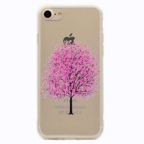 Pheant® Apple iPhone 7 (4.7 pouces) Coque Gel Transparent Cas en TPU Soulple Silicone Couleur-07