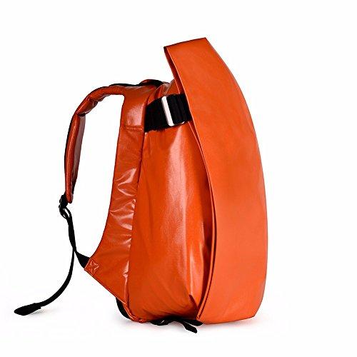TBB-Rucksack Rucksack Reisen Outdoor Mode einfach Trend der großen Kapazität Computer Bag Large orange