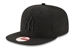 New Era 11180833 - Casquette de Baseball - Homme - Noir/Noir - Large (Taille fabricant: M/L) (B00XHMGLUG) | Amazon Products