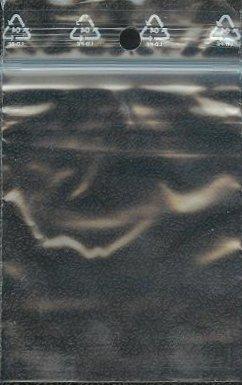 Set 100Zip Druckverschluss Beutel 50x 70mm 5x 7cm Hüllen Lebensmittelqualität 50Mikron Jeco (Zip-beutel-set)