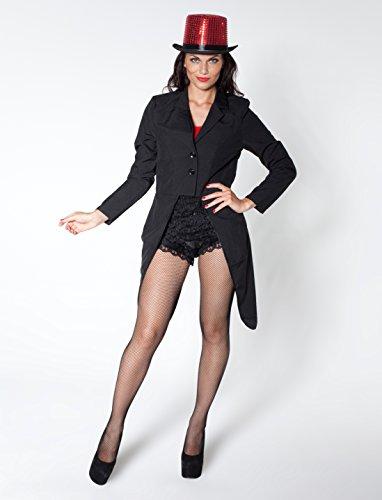rl Damen schwarz 36 (Zirkus Figuren Kostüm)