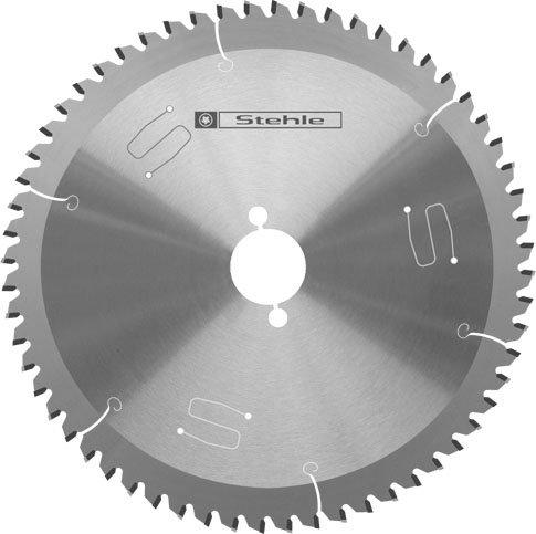 Stehle HM (HM) Universal-Kreissägeblatt Trapez-Flachzahn negativ 216x2,8/2,2x30mm Z=60 TF