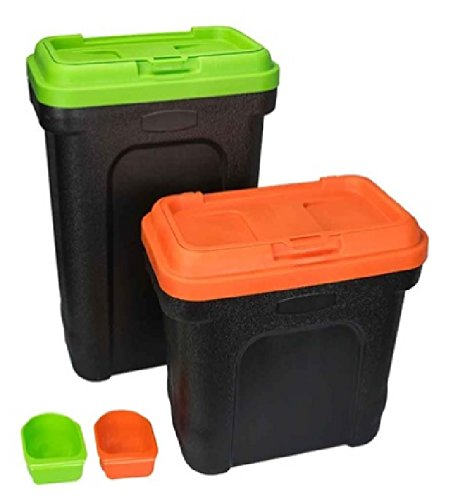 pet-food-storage-container-with-scoop-green-or-orange-small