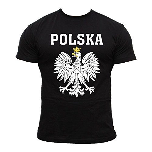 Quaint Point Polska Polen Trikot Herren T-Shirt KP6B (XL)