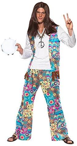 Instrument Costume Ideas - Smiffys - Costume Hippie Homme - Taille
