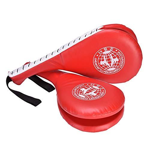 Taekwondo Kick Pads, PU und Eva Karate Kickboxing Boxing Kicking Shield Trainingspad für mehr Kraft -