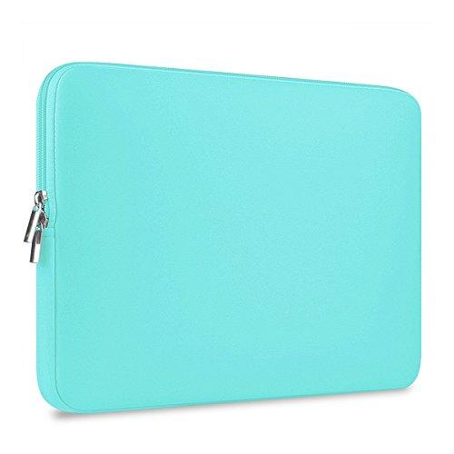 Preisvergleich Produktbild ROSENICE Laptop Hülle Tasche für 13 Zoll Macbook Mac Air Pro Retina (Grüne Neopren Wasserdicht)