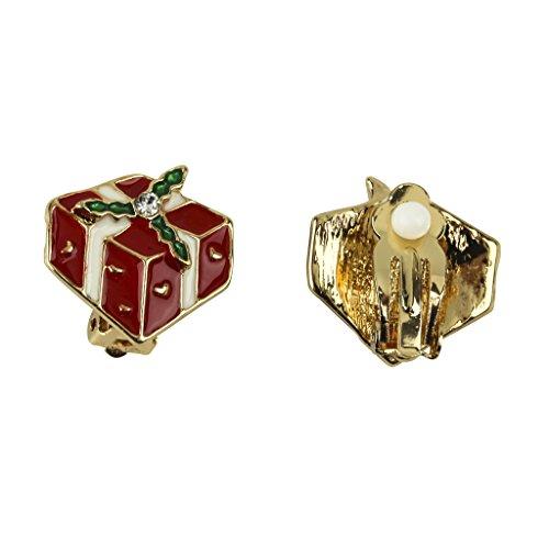 lux-accessories-mistletoe-gift-box-christmas-xmas-clip-on-earrings