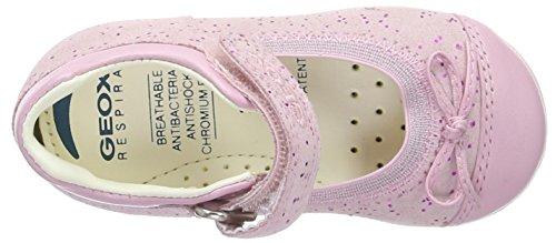 Geox B Jodie B, Chaussures Bébé marche bébé fille Rose (Lt Pinkc8868)