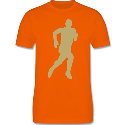 Laufsport - Laufen - Herren Premium T-Shirt Orange