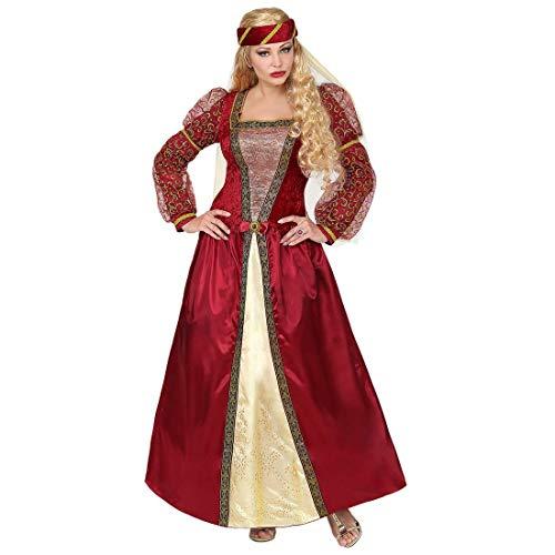 Widmann - Erwachsenenkostüm Mittelalter Prinzessin