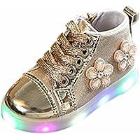 Kinder LED leuchten leuchtende Turnschuhe cinnamou Mode Lässig Sport Outdoor Zip Blume Kristall Schuhe Für Baby Kinder Kleinkind