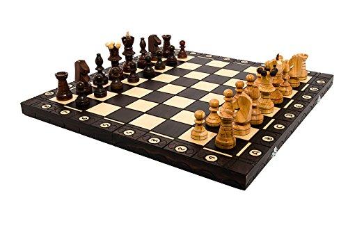 Atemberaubende Kirsche 'Botschafter' 54x54cm dekorative Holz Schachspiel!!!