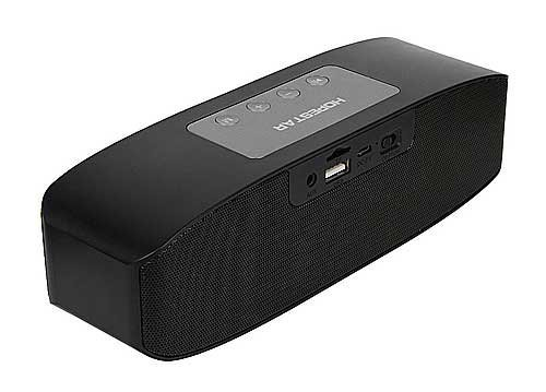 MAKECELL Hopestar H11 compatible with Xiaomi Redmi Note Prime compatible Hopestar H11 Wireless Bluetooth Multimedia Stereo Speaker/ Pen drive Supported, Connecting with Mobile/Tablet/Laptop/Aux/Memory Card/Pan Drive/ FM. Compatible with All Android And IOS Smartphones (Black)