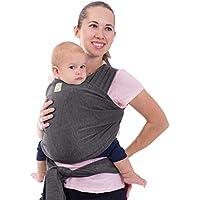 Écharpes de portage élastiques tout-en-un - Porte-bébé - Porte-nourrisson – Écharpe de portage – Écharpes de portage mains libres – Cadeau de naissance - Taille unique
