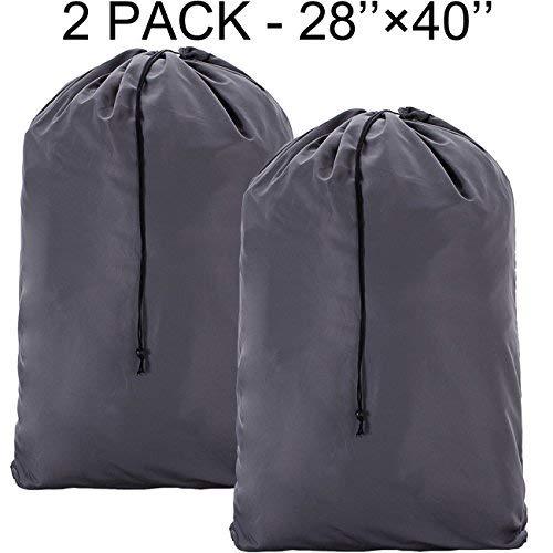 Homest - Bolsa lavandería nailon extragrande 2 unidades