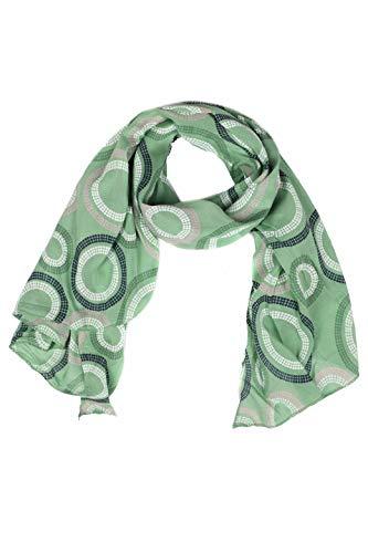 f8d7fff279afa Zwillingsherz Seiden-Tuch Damen mit Muster - Made in Italy - Eleganter  Sommer-schal
