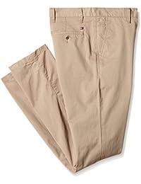 Tommy Hilfiger Denton Chino, Pantalon de Sport Femme, Beige (Batique Khaki), FR: 44 (Taille Fabricant: XL)