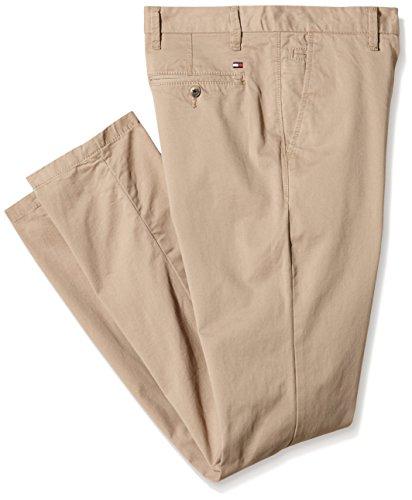 Tommy Hilfiger - Denton Chino, Pantaloni Uomo, Beige (Batique Khaki)