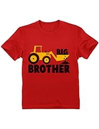 Camiseta para niños - Big Brother - Regalo Original de Cumpleaños para Niños Que Son Hermanos