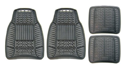michelin-98016-all-weather-rubber-mat-set-black-4-pieces