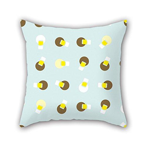 Pillo Fall (Pillo Colorful Geometrie Überwurf Kissen Fall 45,7x 45,7cm/45, von 45cm- oder Decor für Zuhause, Frau, Outdoor, Kaffee Haus, spielen Raum, Kids-Twin Seiten)