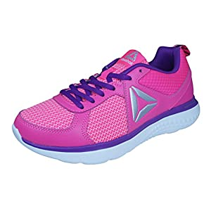 Reebok Astroride Girls Running Trainers/Shoes-Pink-5.5