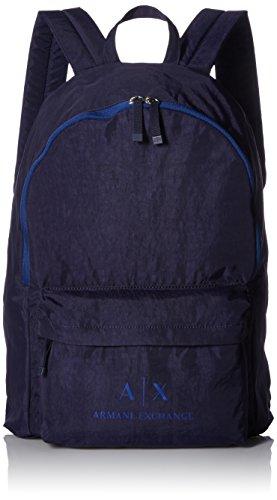 ARMANI EXCHANGE Backpacks - Zaini Uomo, Blu (Dark Sea), 5.5x26.0x20.5 cm (B x H T)