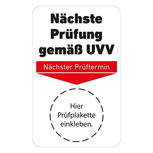 DGUV Vorschrift 68,Prüfplaketten,Prüfung Flurförderzeuge ehemals BGV D27,20-30mm