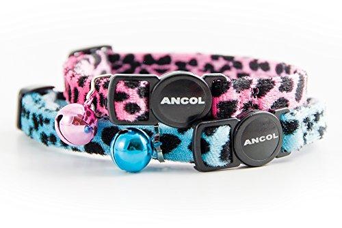 Ancol-Acticat-Velvet-Leopard-Print-Cat-Collar