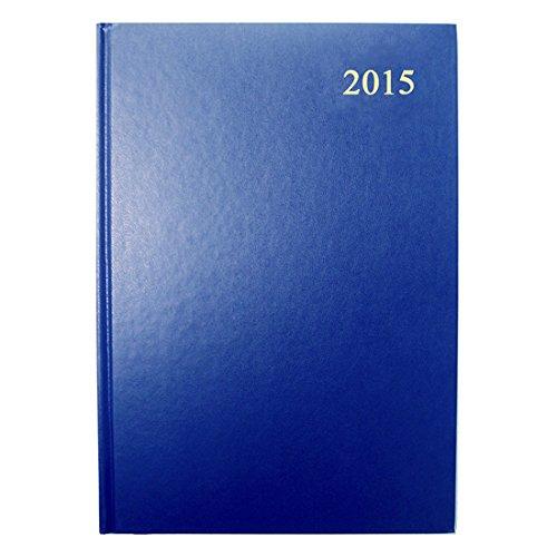 Collins Agenda civil par Semaine 2015 A5 Bleu