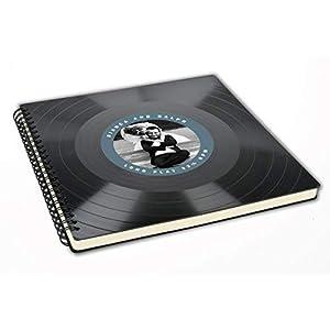 Fotoalbum mit deinem Foto | Hochzeitsalbum aus Schallplatte | Gästebuch | Vinyl | Musik Hochzeit | Vintage Retro | personalisierte Geschenk-Idee